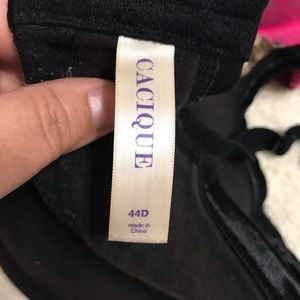 Cacique Intimates & Sleepwear - Cacique Cotton Boost Plunge Bras 44D, Lot of 6